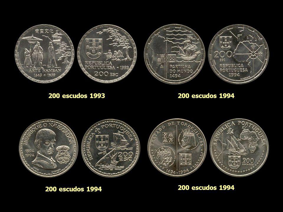 200 escudos 1993 200 escudos 1994 200 escudos 1994 200 escudos 1994