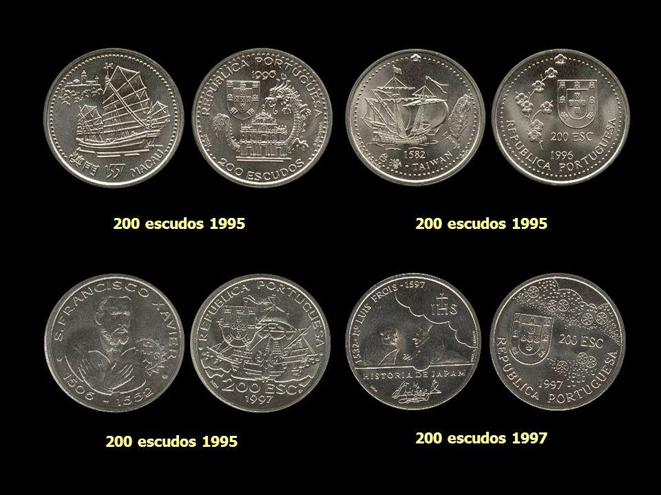 200 escudos 1995 200 escudos 1995 200 escudos 1995 200 escudos 1997