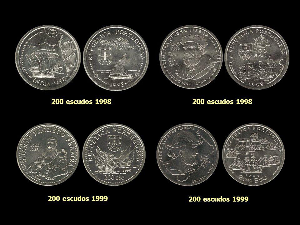 200 escudos 1998 200 escudos 1998 200 escudos 1999 200 escudos 1999