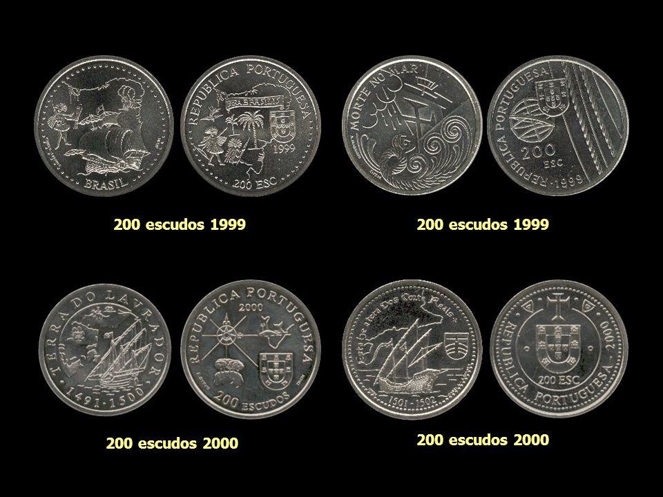 200 escudos 1999 200 escudos 1999 200 escudos 2000 200 escudos 2000
