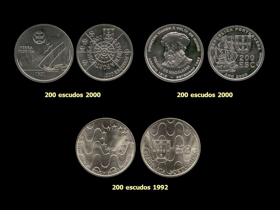 200 escudos 2000 200 escudos 2000 200 escudos 1992