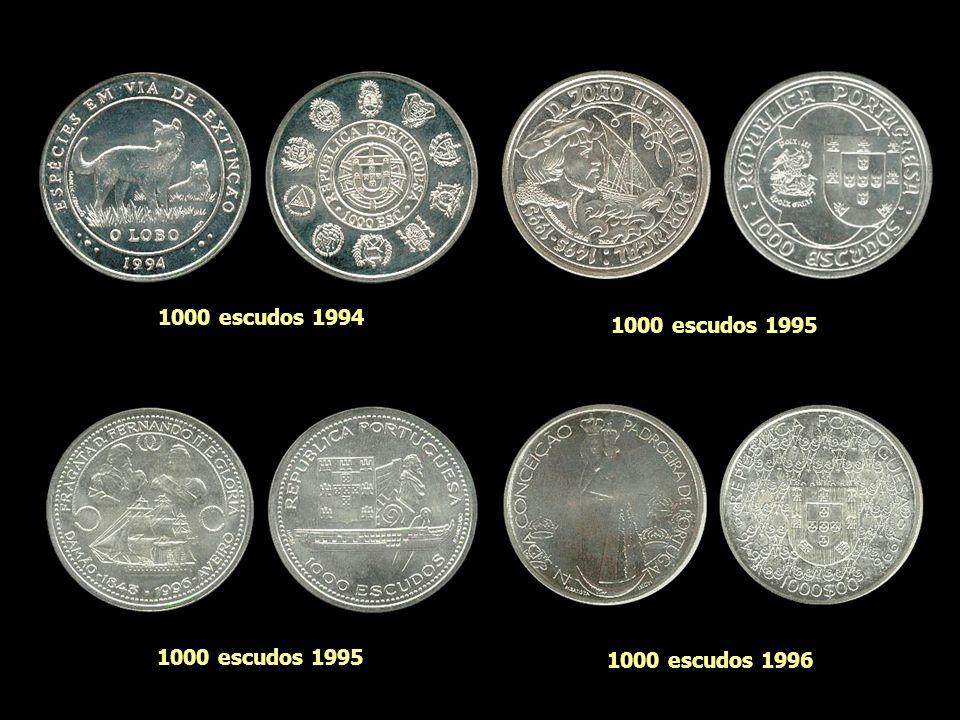 1000 escudos 1994 1000 escudos 1995 1000 escudos 1995 1000 escudos 1996