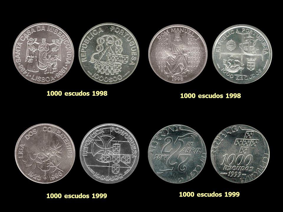 1000 escudos 1998 1000 escudos 1998 1000 escudos 1999 1000 escudos 1999