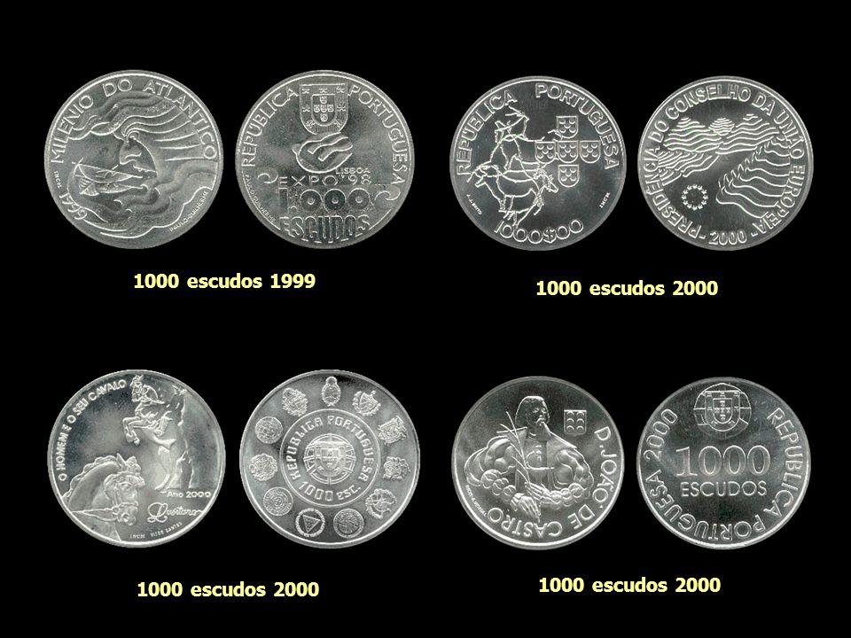 1000 escudos 1999 1000 escudos 2000 1000 escudos 2000 1000 escudos 2000