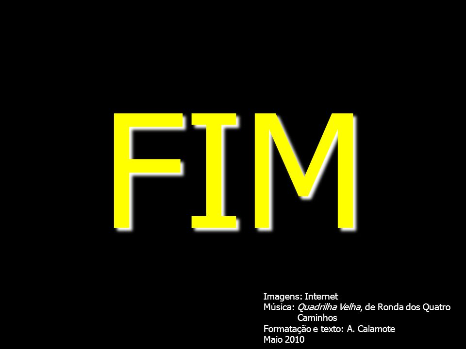 FIM Imagens: Internet Música: Quadrilha Velha, de Ronda dos Quatro
