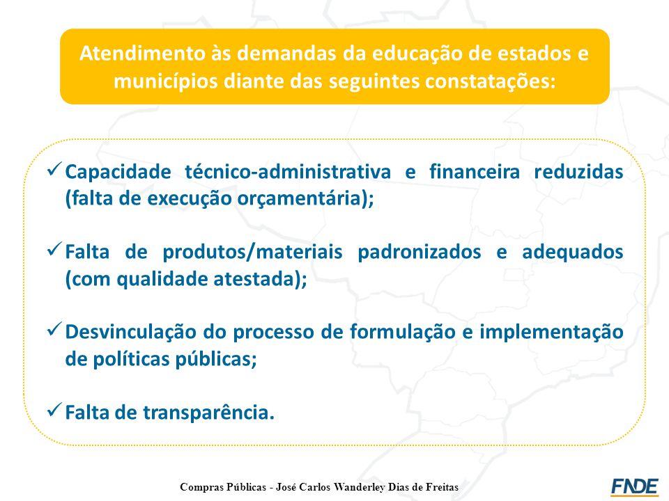 Compras Públicas - José Carlos Wanderley Dias de Freitas