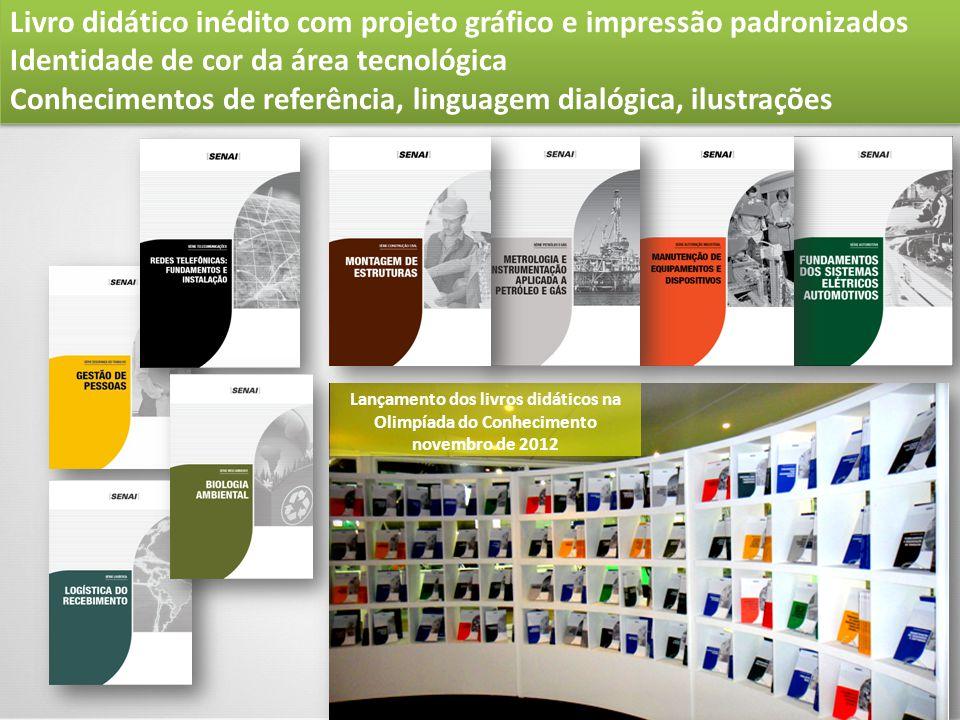 Lançamento dos livros didáticos na Olimpíada do Conhecimento