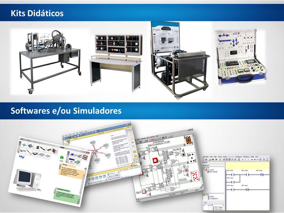Kits Didáticos Softwares e/ou Simuladores