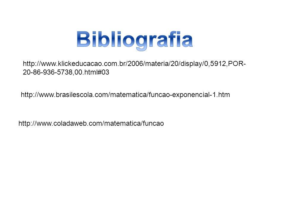 Bibliografia http://www.klickeducacao.com.br/2006/materia/20/display/0,5912,POR-20-86-936-5738,00.html#03.