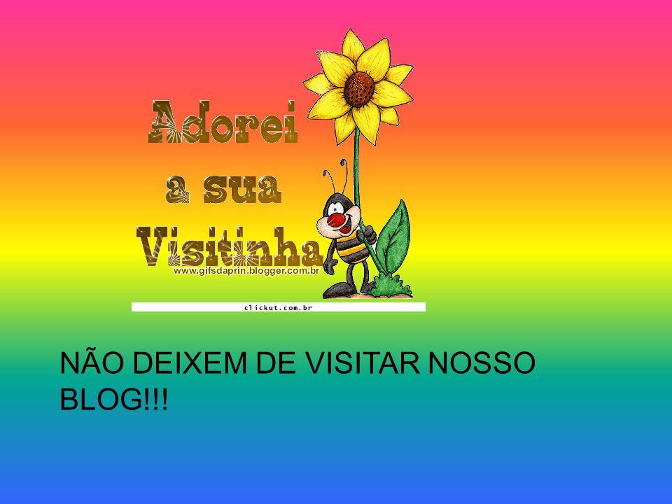 NÃO DEIXEM DE VISITAR NOSSO BLOG!!!
