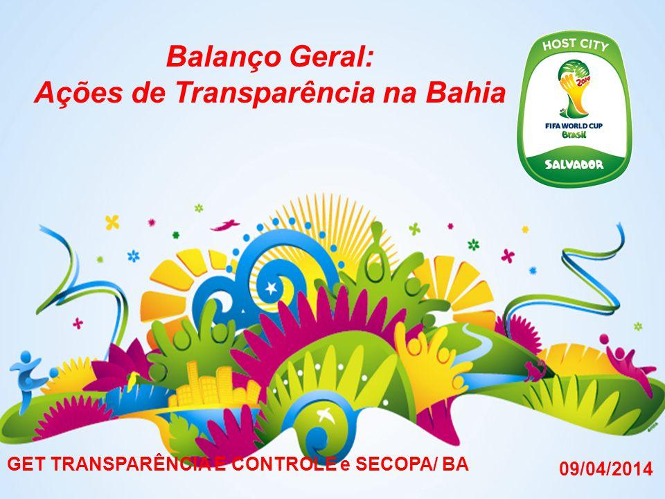 Balanço Geral: Ações de Transparência na Bahia