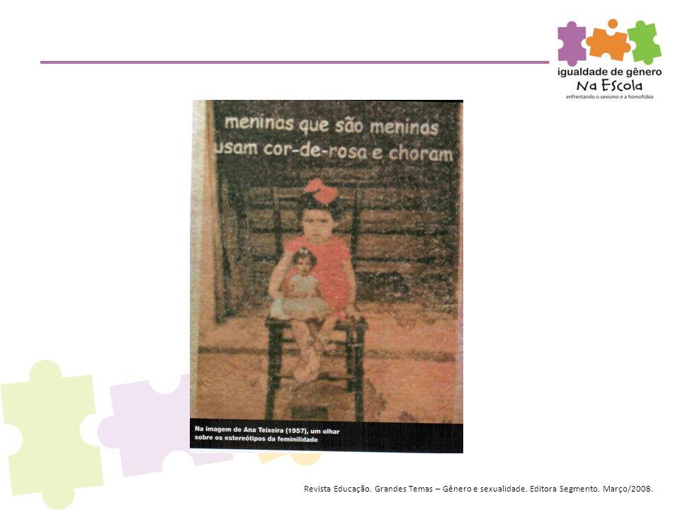 Revista Educação. Grandes Temas – Gênero e sexualidade