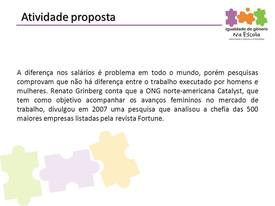 Atividade proposta