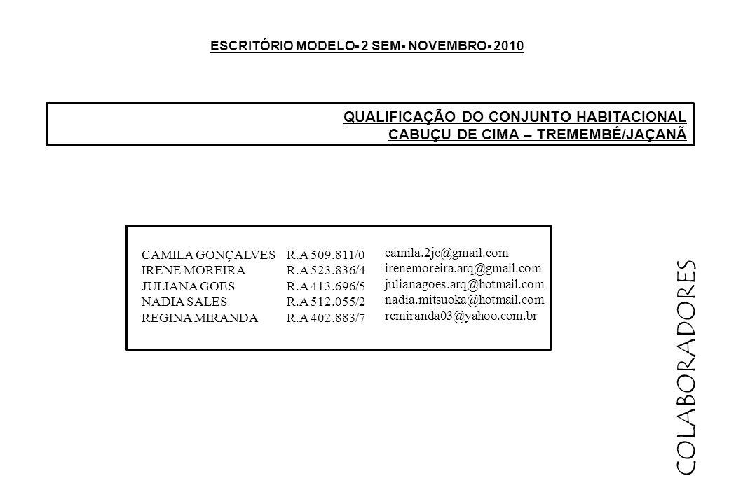 ESCRITÓRIO MODELO- 2 SEM- NOVEMBRO- 2010