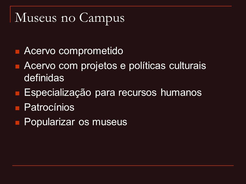 Museus no Campus Acervo comprometido