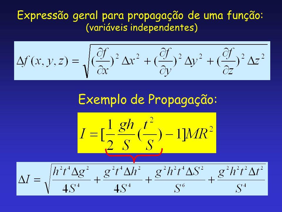 Exemplo de Propagação: