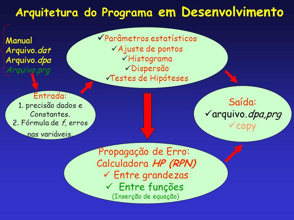 Parâmetros estatísticos