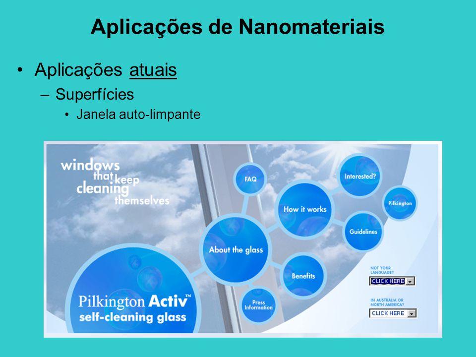 Aplicações de Nanomateriais