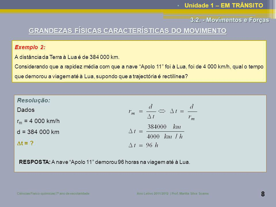 Ano Letivo 2011/2012 | Prof. Marília Silva Soares