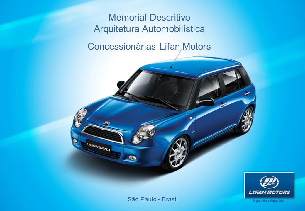 Arquitetura Automobilística Concessionárias Lifan Motors