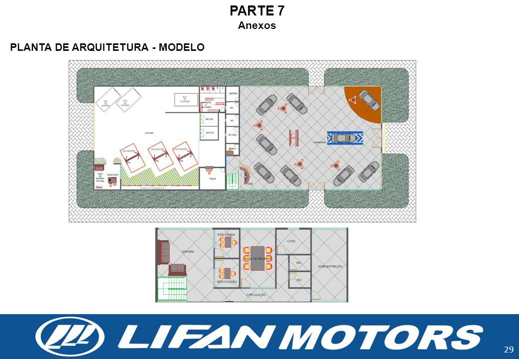 PARTE 7 Anexos PLANTA DE ARQUITETURA - MODELO 29