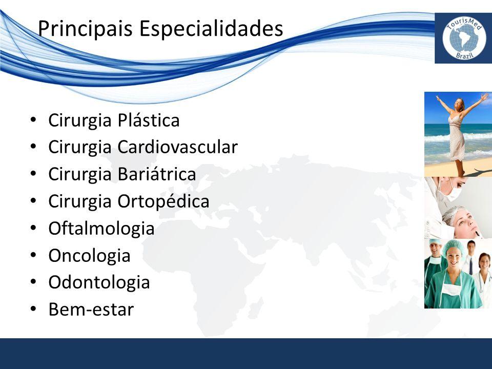 Principais Especialidades