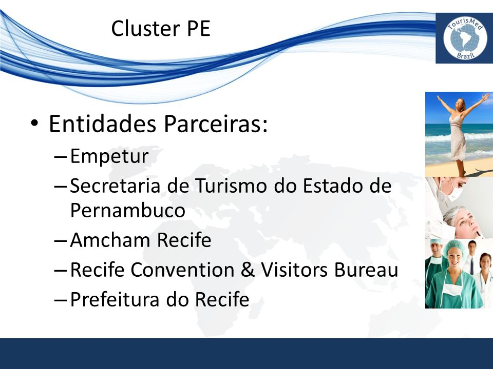 Entidades Parceiras: Cluster PE Empetur