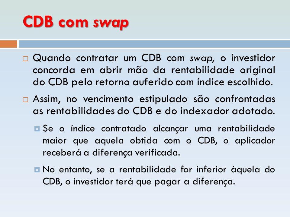 CDB com swap