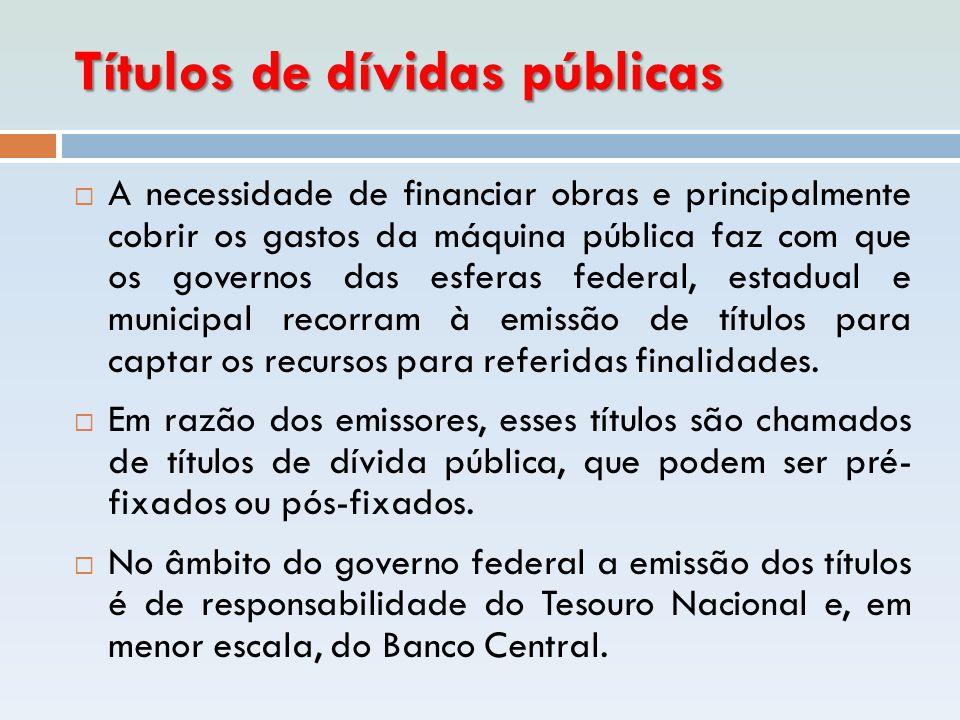 Títulos de dívidas públicas