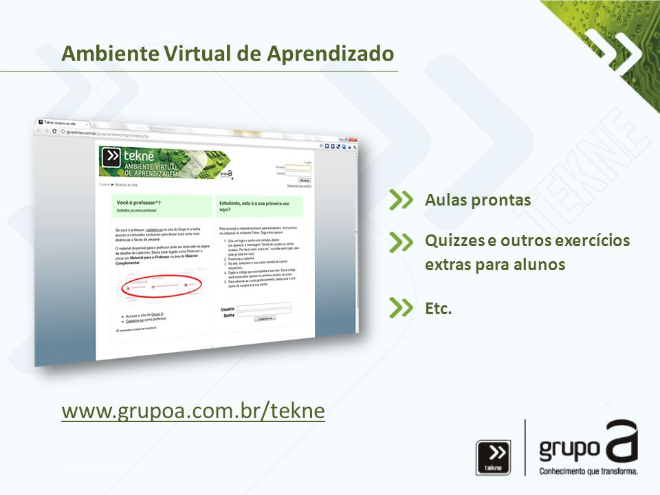 Ambiente Virtual de Aprendizado