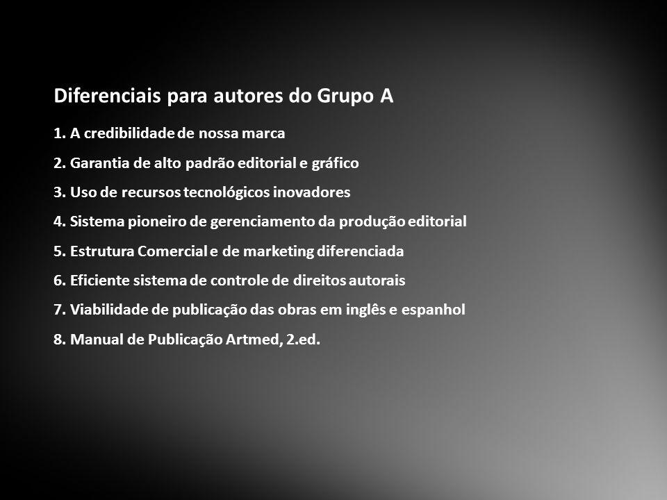 Diferenciais para autores do Grupo A