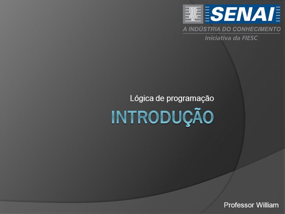 Lógica de programação introdução Professor William