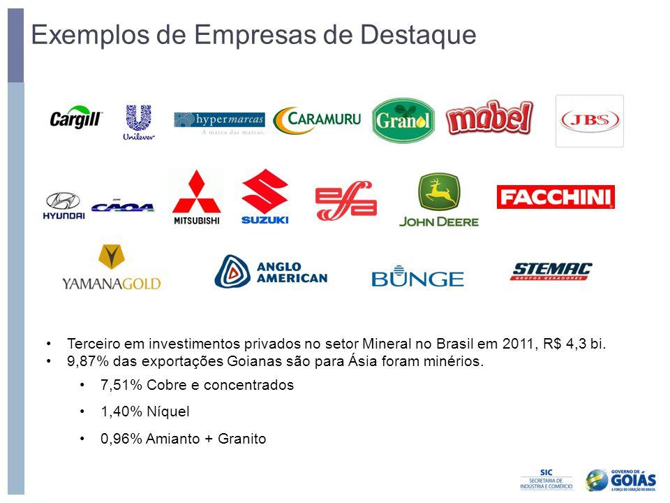 Exemplos de Empresas de Destaque