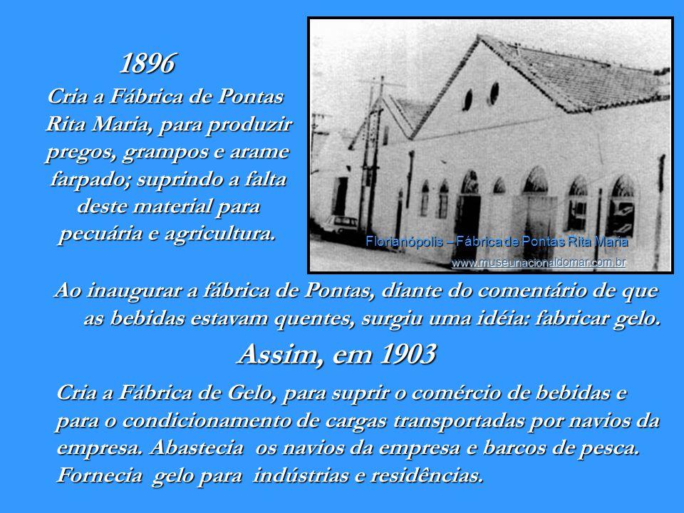 Florianópolis – Fábrica de Pontas Rita Maria