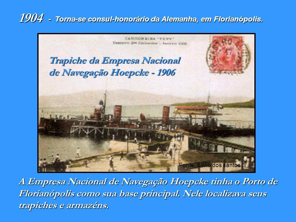 1904 Trapiche da Empresa Nacional de Navegação Hoepcke - 1906