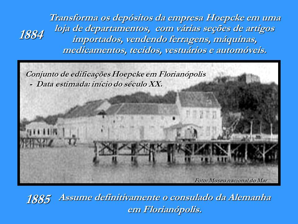 Assume definitivamente o consulado da Alemanha em Florianópolis.