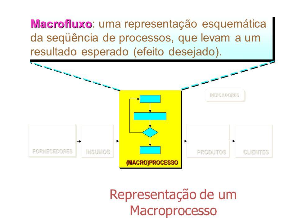 Representação de um Macroprocesso