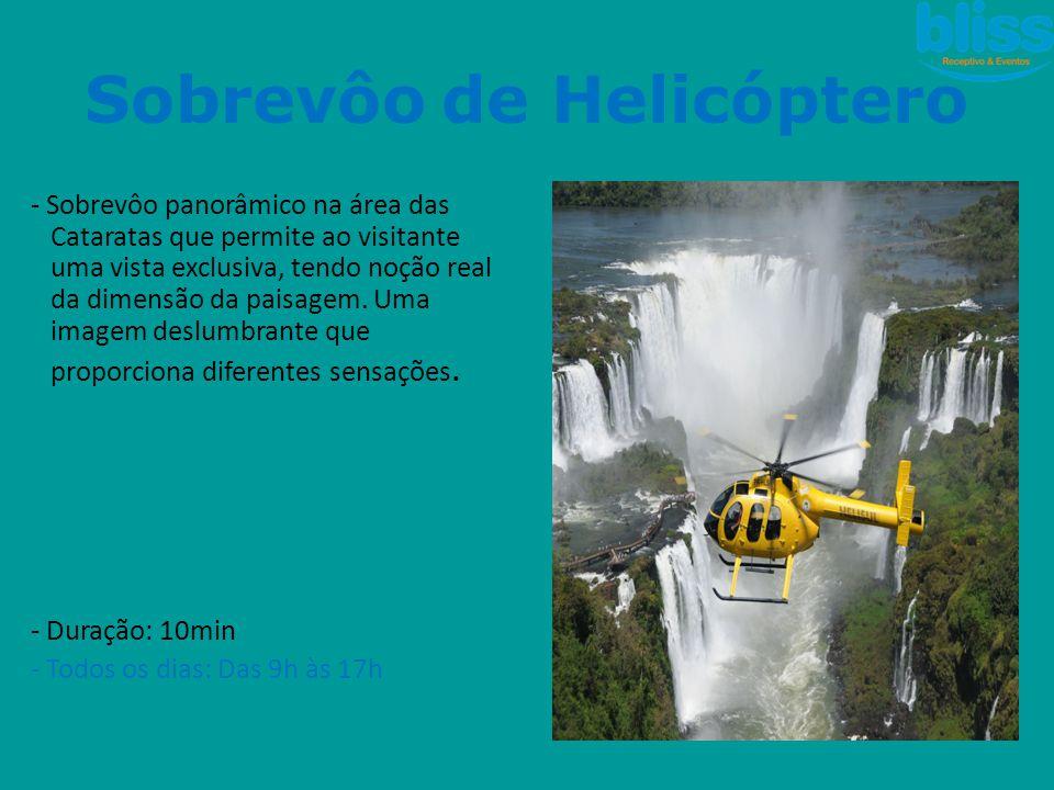Sobrevôo de Helicóptero