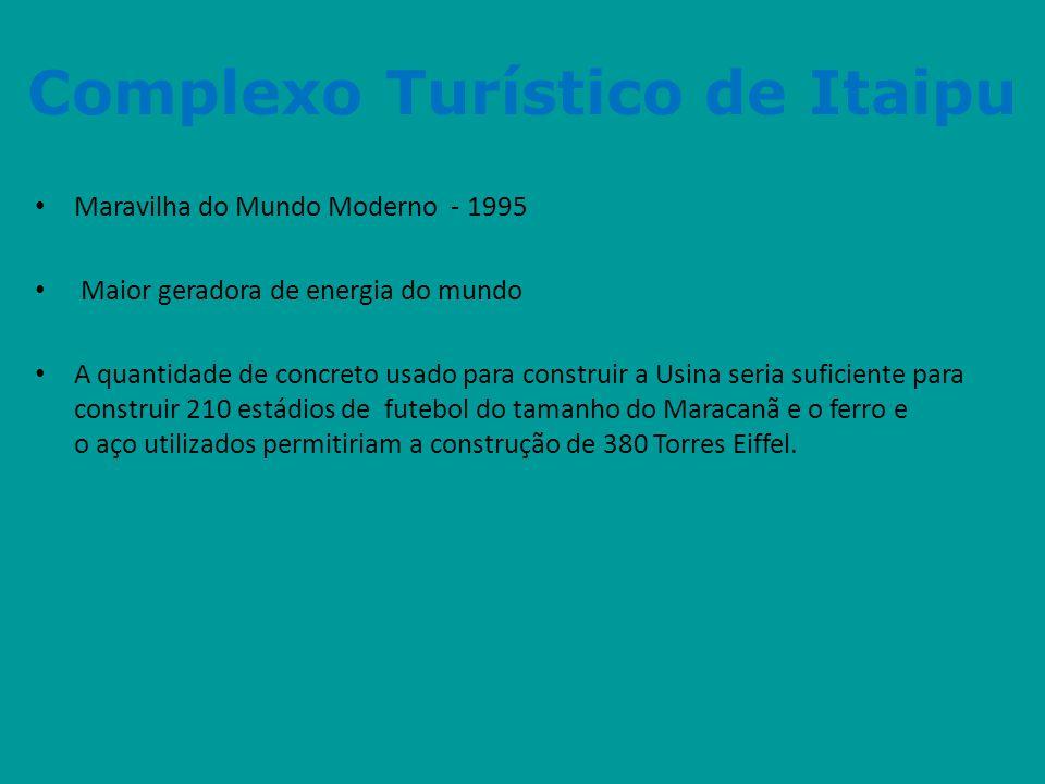 Complexo Turístico de Itaipu