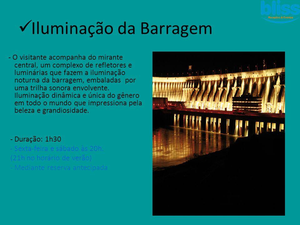 Iluminação da Barragem