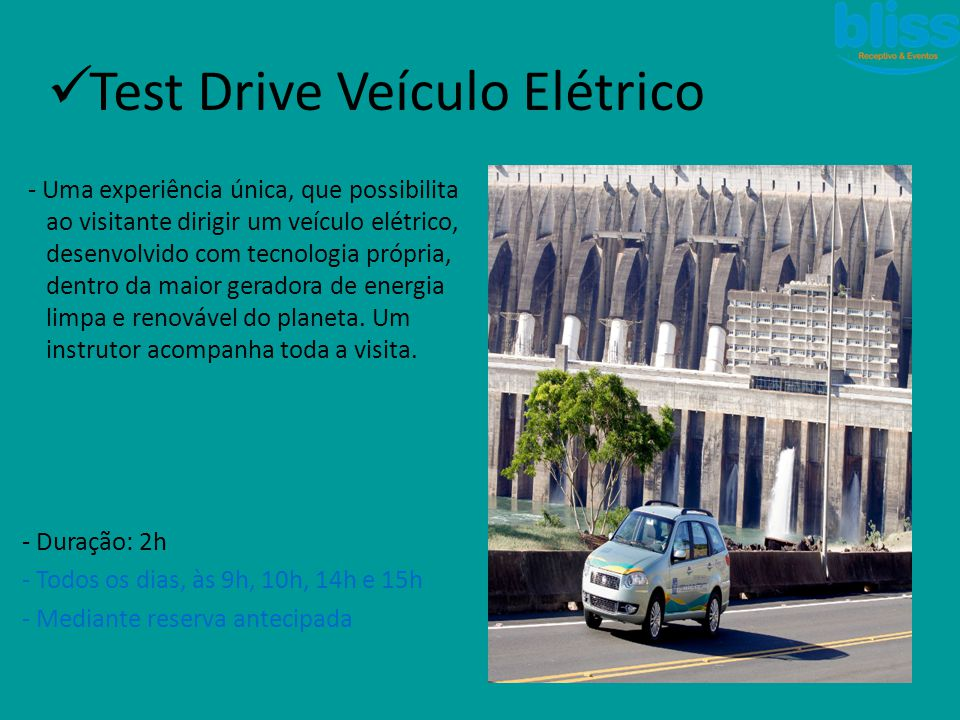Test Drive Veículo Elétrico