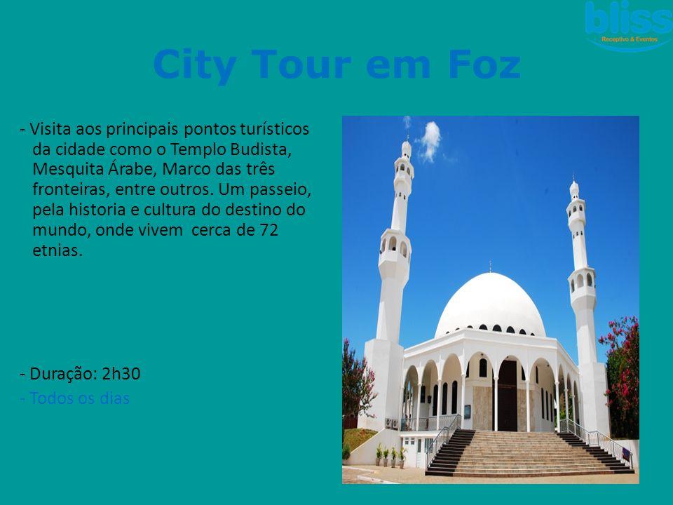 City Tour em Foz