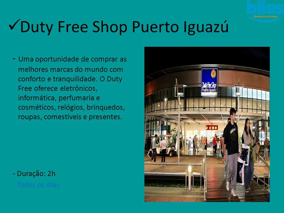 Duty Free Shop Puerto Iguazú