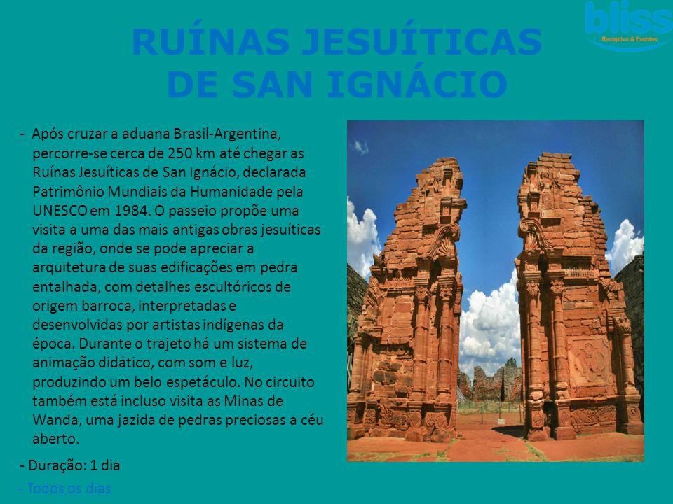 RUÍNAS JESUÍTICAS DE SAN IGNÁCIO