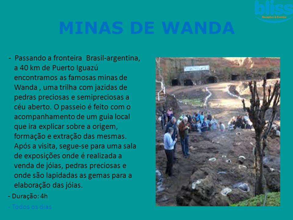 MINAS DE WANDA
