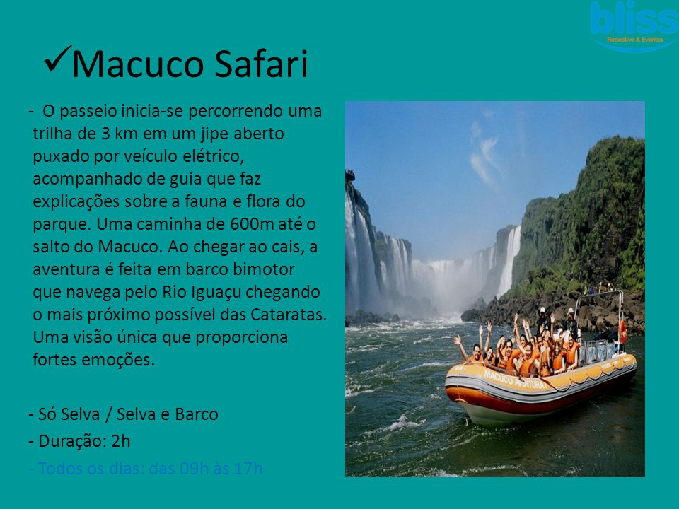 Macuco Safari