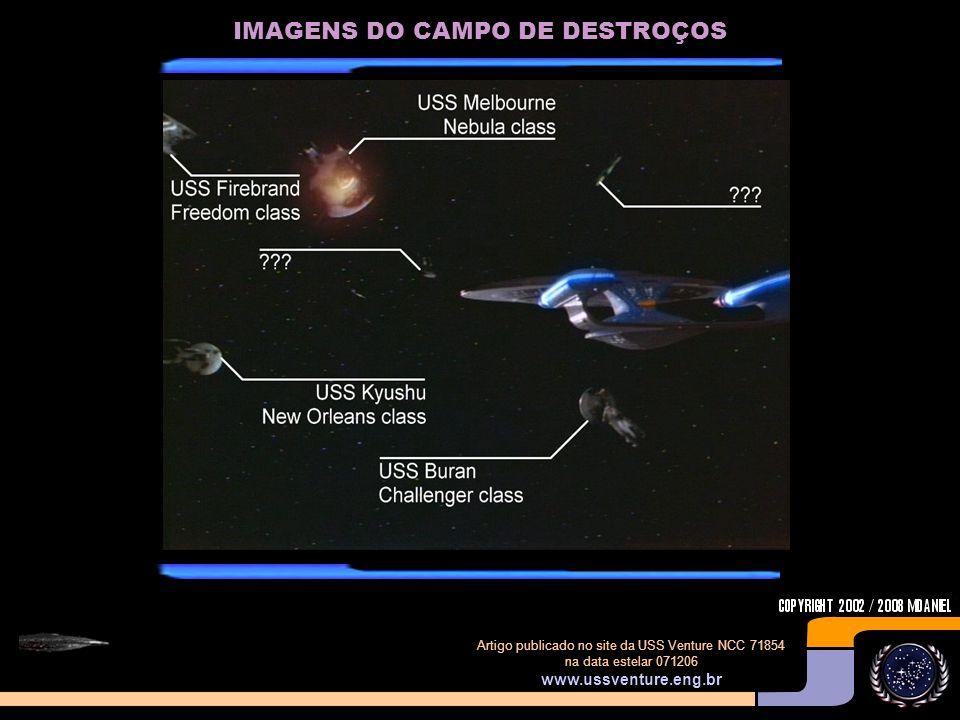 IMAGENS DO CAMPO DE DESTROÇOS