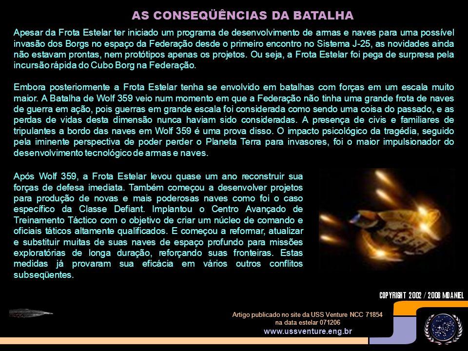 AS CONSEQÜÊNCIAS DA BATALHA