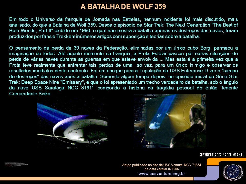 A BATALHA DE WOLF 359