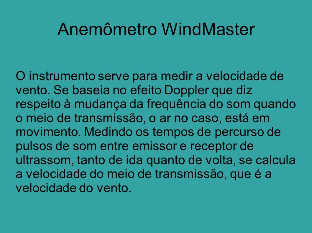 Anemômetro WindMaster